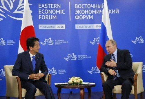 Putin, Japonya Başbakanı Abe İle Görüştü
