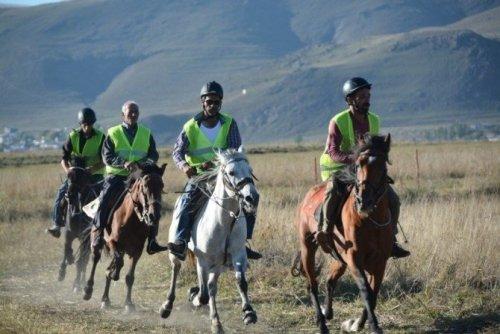 Rahvan At Yarışları Türkiye Şampiyonası Ardahan'da Yapıldı