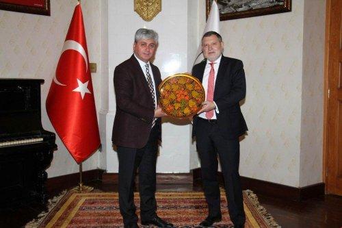 Rusya'nın Trabzon Başkonsolosunu Kars'ta