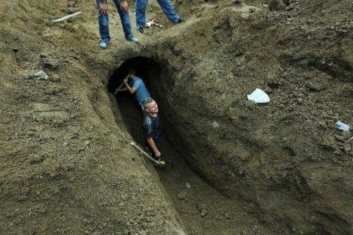 Samsun'da Helenistik Döneme Ait Tarihi Mezar Odası Bulundu