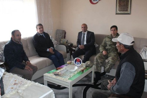 Selim Kaymakamı Keklik'in Köy Ziyareti