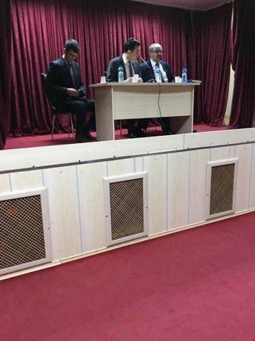 Selim'de Muhtarlarla İstişare Toplantısı