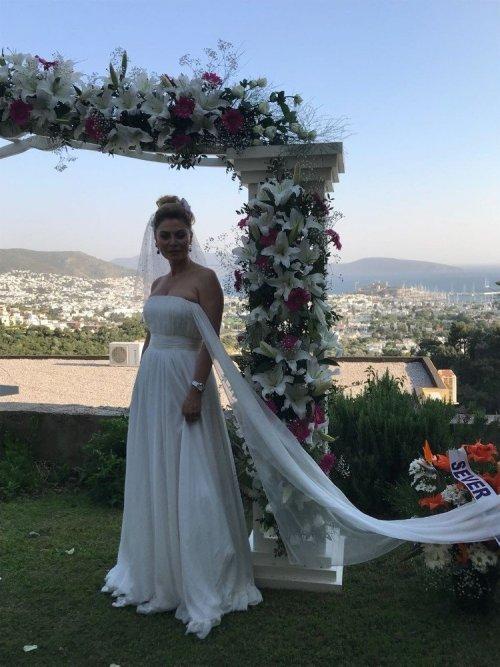 Seray Sever Bodrum'a Gelin Gitti