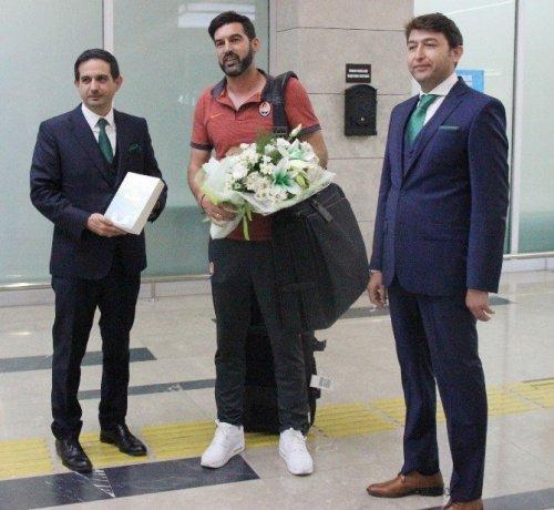 Shakhtar Donetsk Kafilesi Konya'da