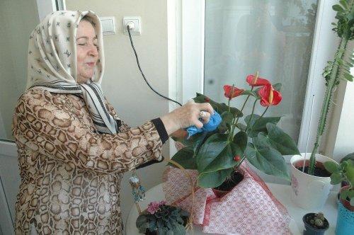 Sıcak Havada Sulanan Çiçekler Kuruyor
