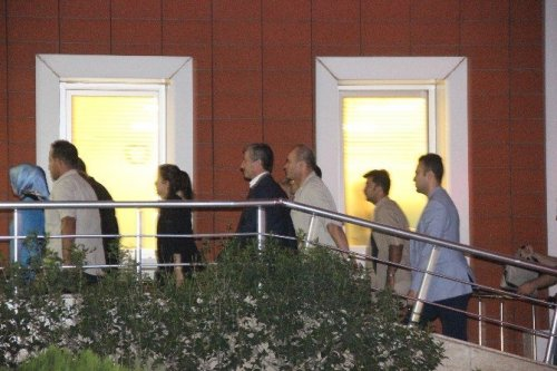 Şimşek ve Akdağ, Saldırıda Yaralananları Ziyaret Etti