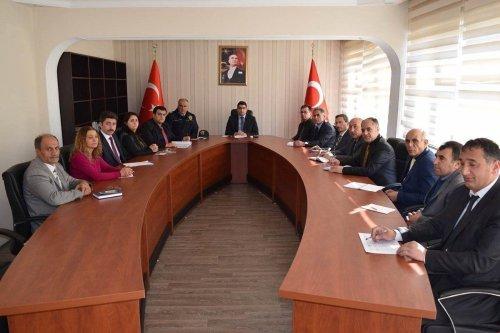 Susuz'da İdare Şube Başkanları Toplantısı
