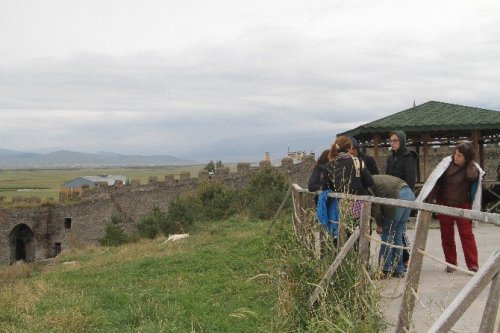 Tarihi 'Ardahan Kalesi'ne Turist Akını