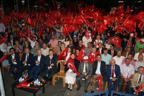 Trabzon'dan Yenikapı'yı İzlediler