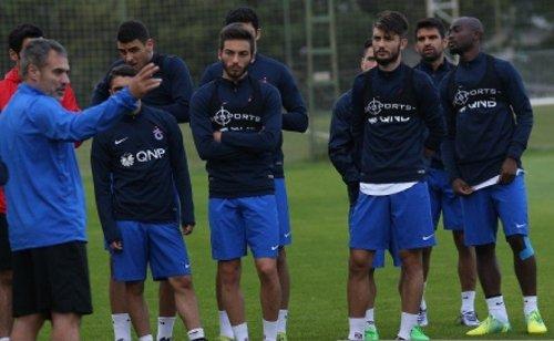 Trabzonspor Yeni Sezon Hazırlıklarını Sürdürdü