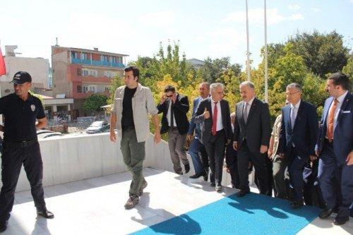 Ulaştırma Bakanı Arslan Iğdır'da