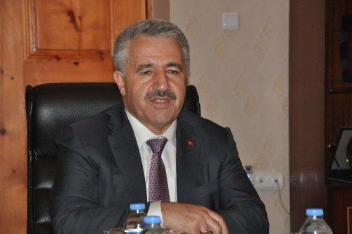 Ulaştırma, Denizcilik ve Haberleşme Bakanı Arslan Kağızman'da
