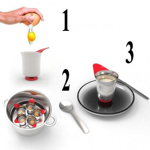 Yumurtaları İstenilen Kıvamda Pişirecek Tasarım