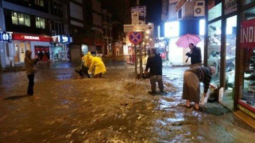 Zonguldak'ta Şiddetli Yağış